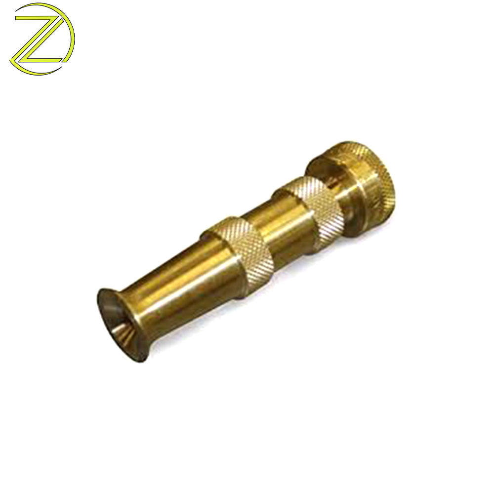 Wholesale Copper Pipe Adapter Male Thread Fitting Spray Water Garden Hose HPb59 Brass Nozzle