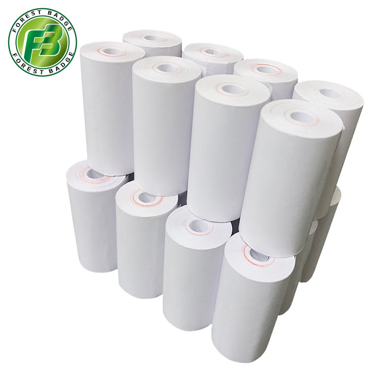 Thermal paper ticket dispenser thermal paper rolls 57mm x 30mm