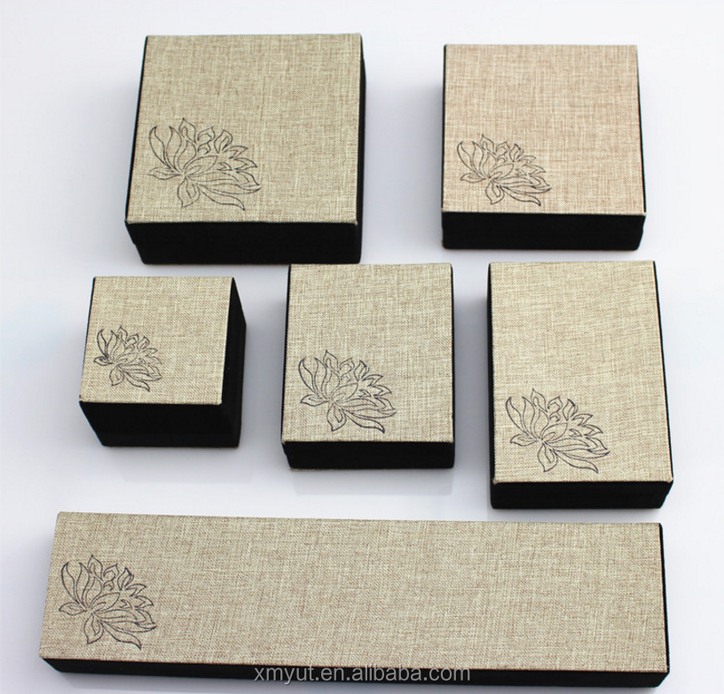 jewelry gift box necklace box paper box