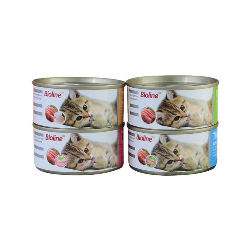 Selected Ingredients Tuna+Chicken/Tuna+Beef/Tuna+Shrimp Wet Canned Cat Food