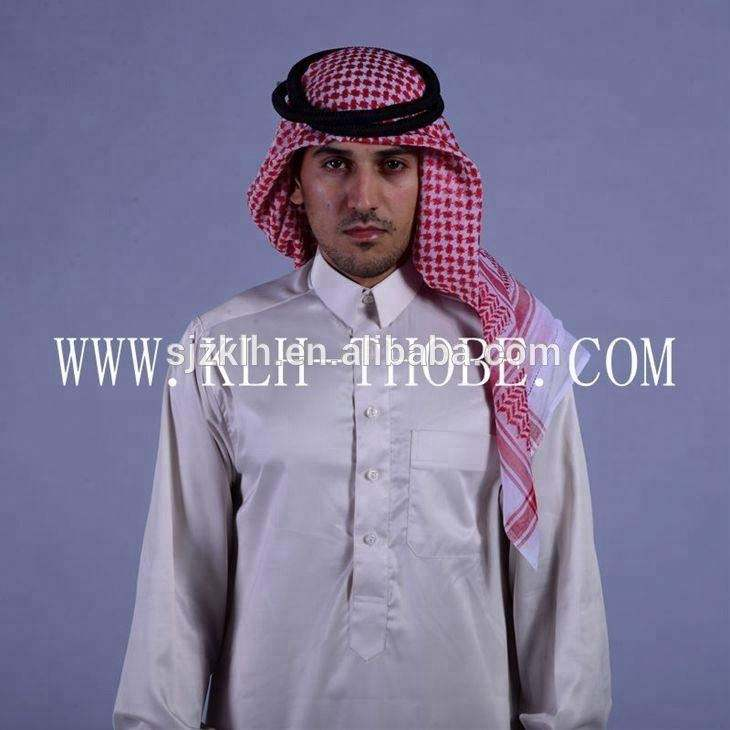 Muslim Clothes Black/ Cotton Abaya in Dubai/ Turkish Jilbabs/ Thobe Islamic Clothing for Men