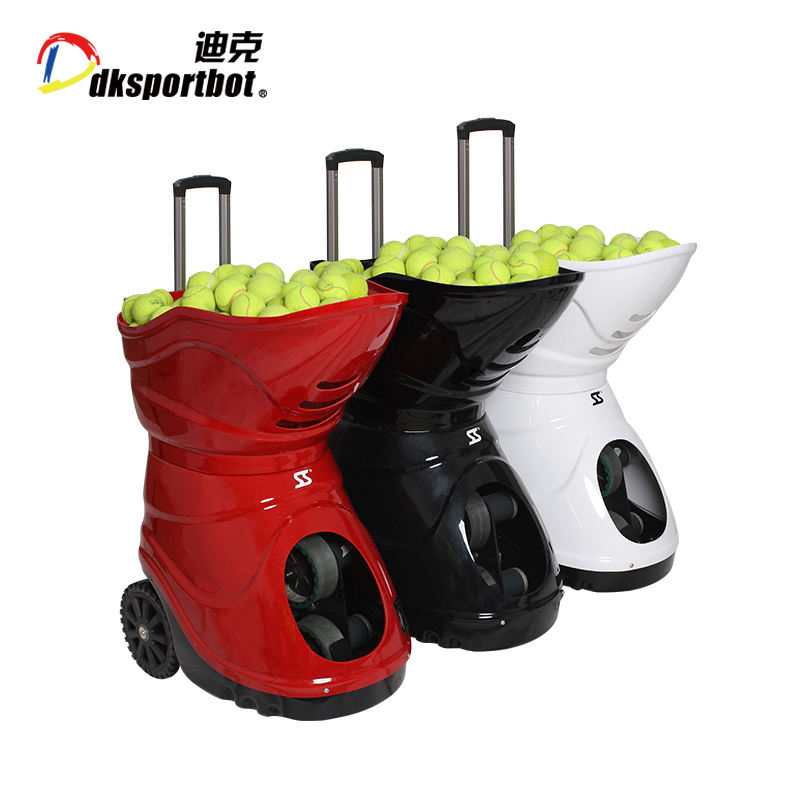 Tennis ball machine tennis shooting training machine with battery remote control DT2