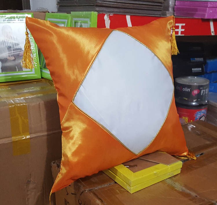 Factory wholesale white square Sublimation blank pillow case