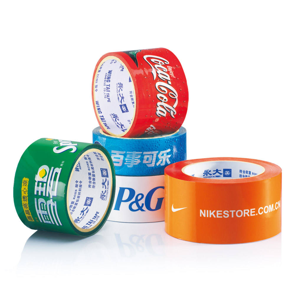 Custom 3 Packing Logo Printed Personalized Cello Adhesive Tape For Packing