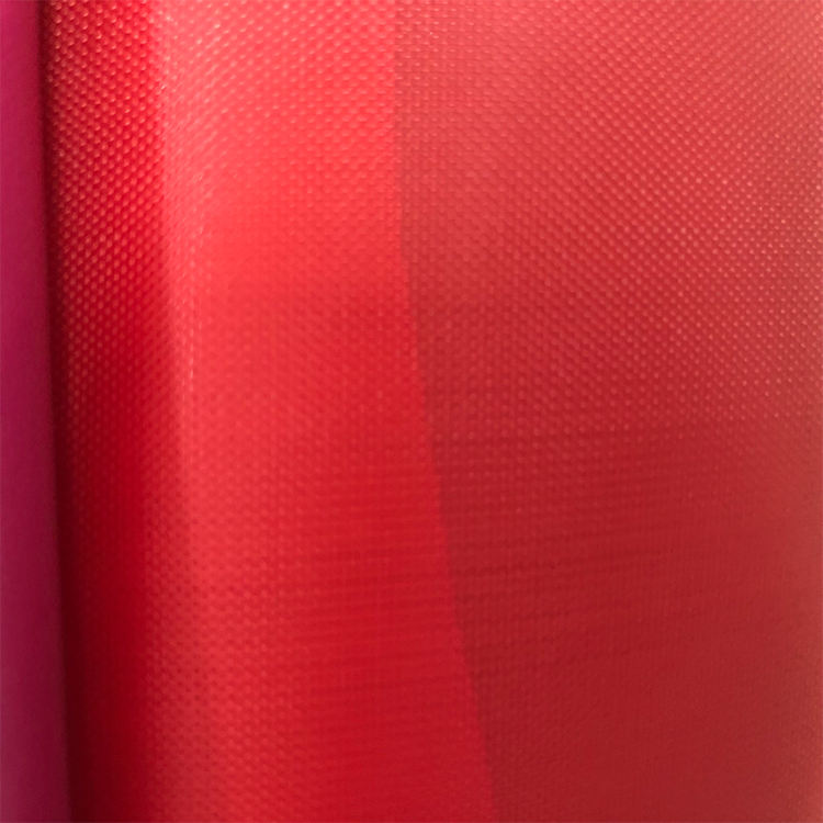 pe recycled material polyester pvc raincoat fabric