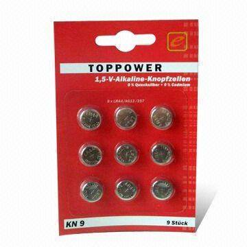 TOPPOWER SR626SW 377 Silver Oxide 1.55V Coin Button Cell 10 Batteries