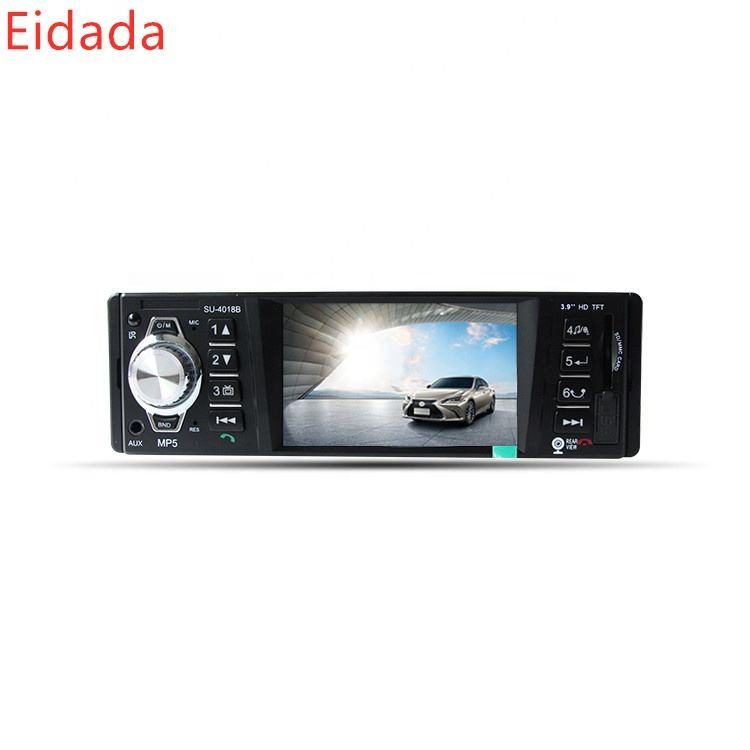 ED-4018B 4.1 inch Universal TFT-LCD HD Car One Din Stereo Radio Video Bluetooth Mp5 Player with USB