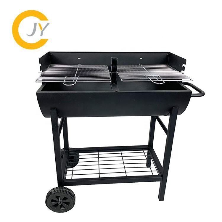 Barbecue Grill Cyprus Barrel Shaped Charcoal Bbq Grill
