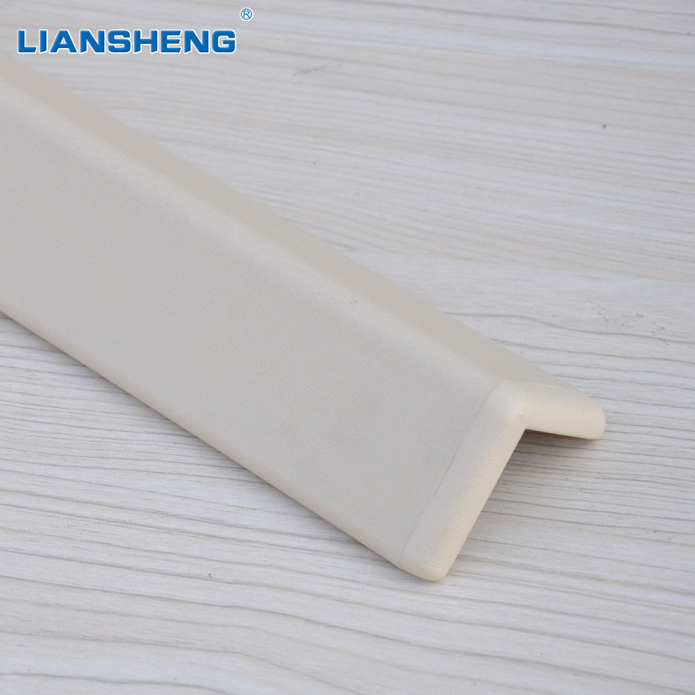 PVC cover aluminum wall corner guard