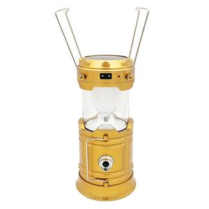 Wholesale plastic outdoor portable telescopic solar lantern usb rechargeable solar camping light led camping lamp