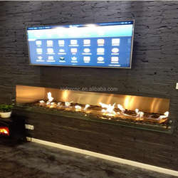 LD-1000 modern,safe intelligent bio ethanol fireplace with remote control&WIFI