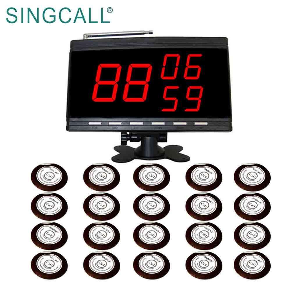 SINGCALL best sale restaurant wireless call service system
