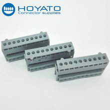 2.54MM female connector IDC socket type 10 pin wire connector
