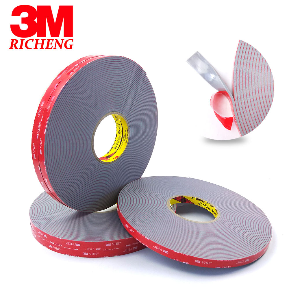 The spot 3M VHB 4991 Tapes utilizes multi-purpose acrylic adhesive on both sides VHB Double Sided Adhesive Acrylic Foam Tape