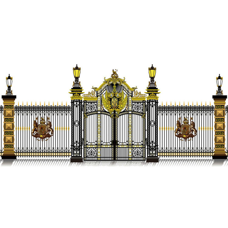Iron Fancy Gate 2020 Boundary Wall Gate Designs Wrought Iron Gates