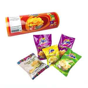 aluminum foil metalized pet film laminating food packaging plastic roll film for potato chips