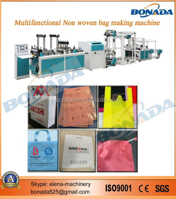 BND-A700 100GSM PP Spunbonded Non Woven Fabric Bag Making Machine