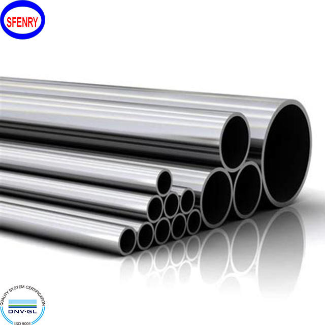 Stainless Pipe Price Sfenry ASME B36.19 SCH10S SCH40S Seamless Stainless Steel Pipe Price