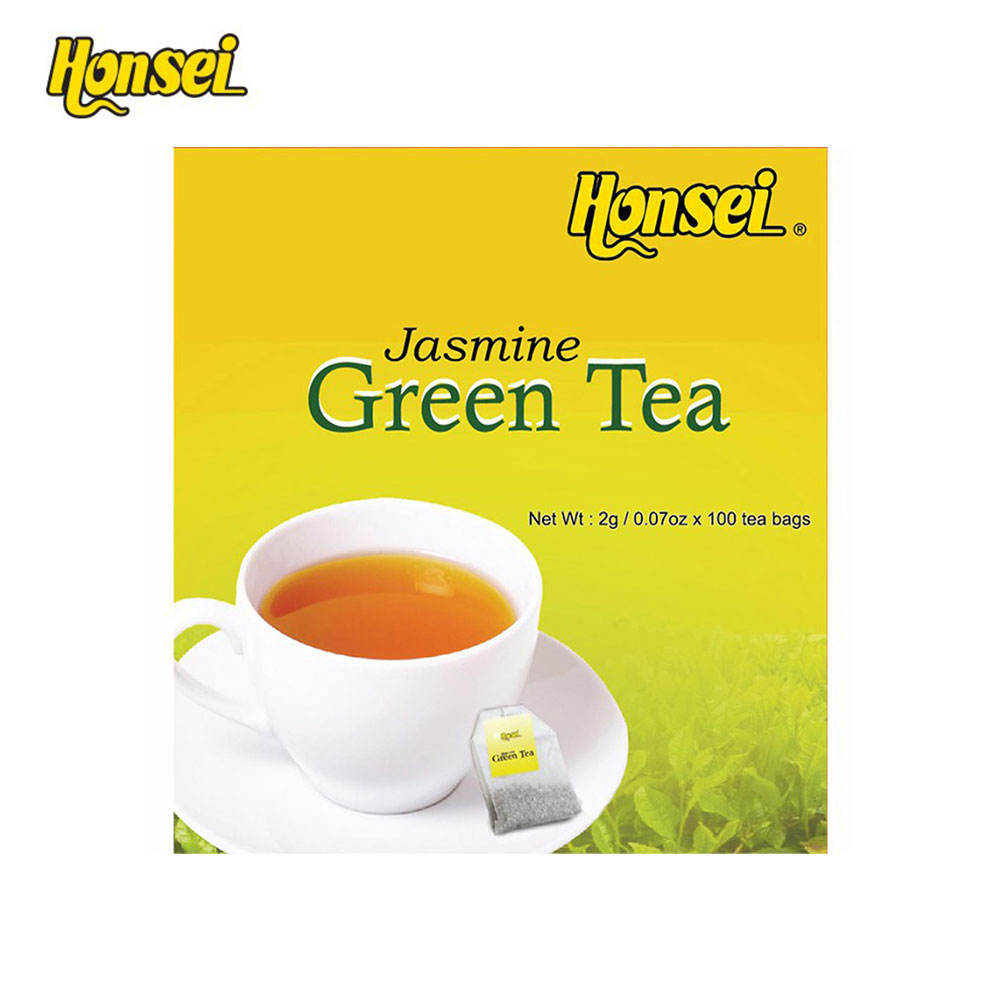 Singapore Honsei Hot Sale Benefit Of Natural Jasmine Flavored Instant Green Tea