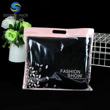 zip lock plastic wholesale Clear cosmetic brush poly bag