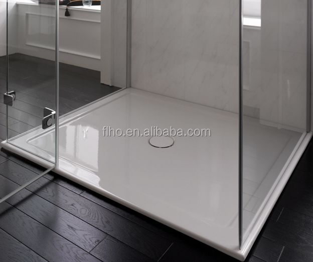 America acrylic deep shower tray and stone shower pan factory in foshan