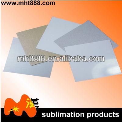 التسامي الفراغات رقائق الألومنيوم الذهب 0.5-0.7mm/ الفضة/ صفائح معدنية بيضاء التسامي