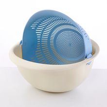 Plastic Basket/Washing With Storage /Vegetable /Double-deck Dish Basket