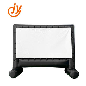 Factory Supply Free OEM Logo High Quality 16:9 Inflatable Outdoor Projector Screen