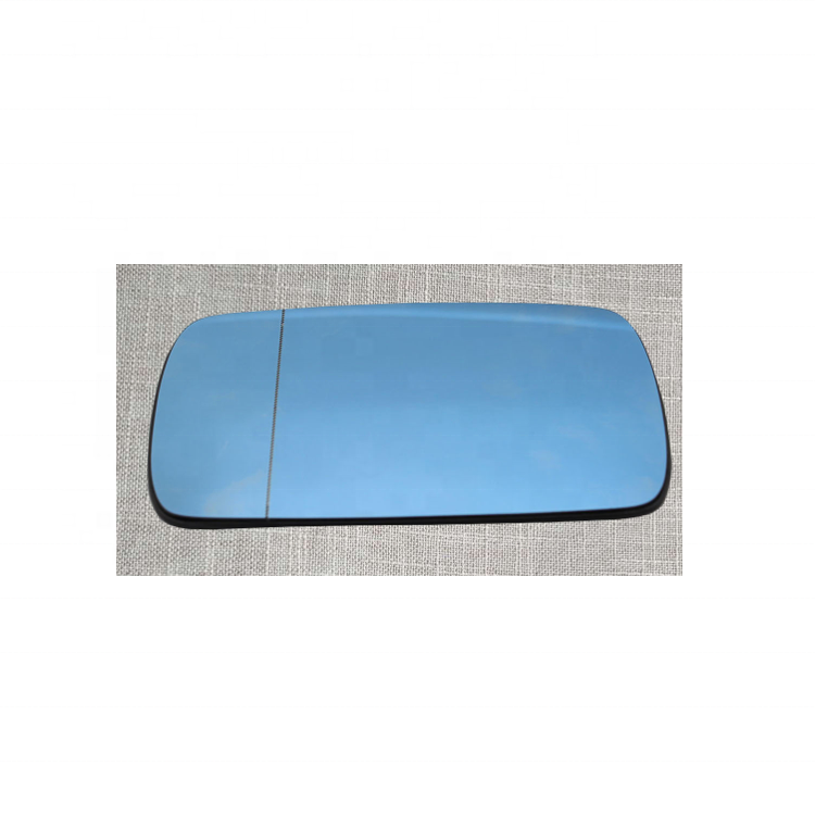 Right Heated Blue Wing Mirror Glass for BMW 5 E39 1995-2003 power folding only