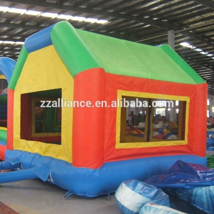 easy storage lovely house family indoor inflatable bouncy castle
