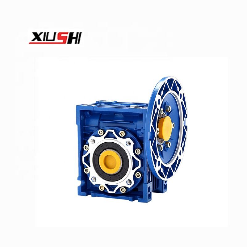 Ac induction gearbox motor speed reducer warm gear 1:30