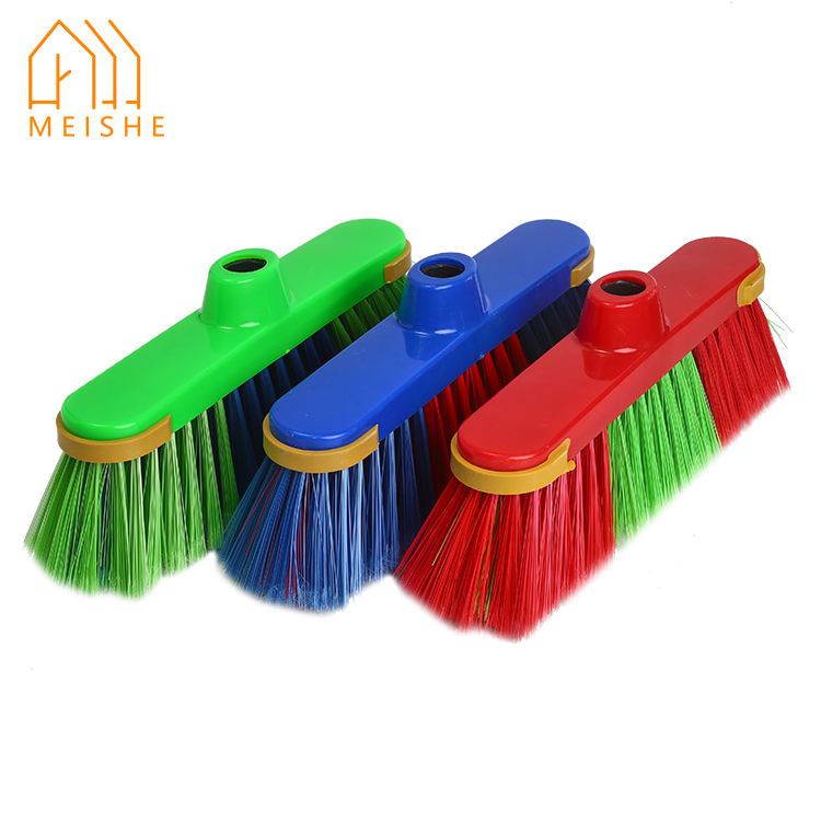brand new plastic broom india with plastic bristle made in china