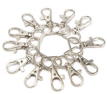 Wholesale Metal Swivel Clasps Lanyard Accessories Snap Hook Lobster Claw Clasp