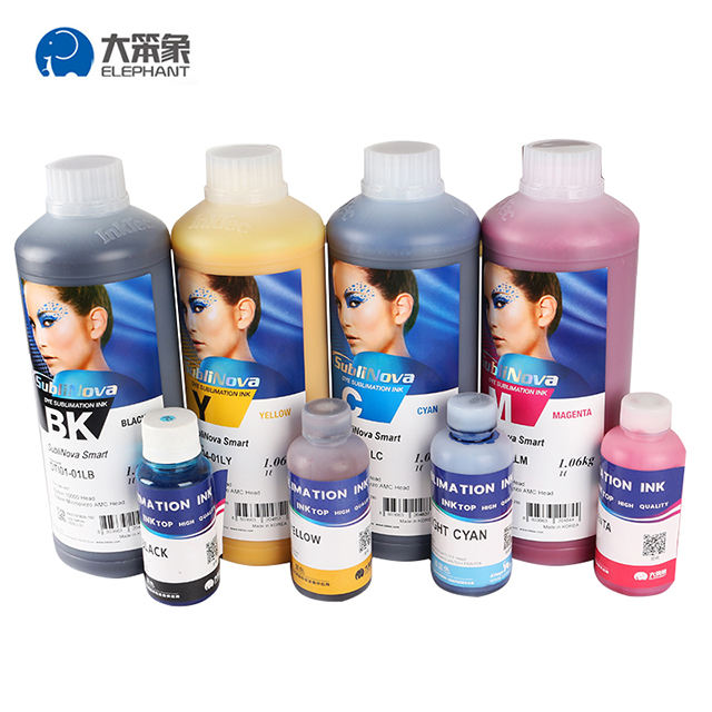 Original korea direct sell sublinove advanced and wide format sublimation dye ink in printing inks