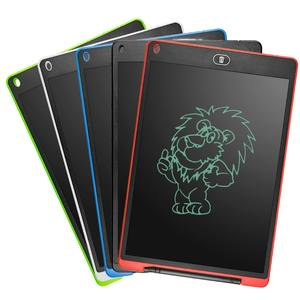 Amazon hot selling writing board 12 inch LCD writing tablet graphics tablet drawing with screen lock