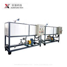 200KW electric thermal oil heater system for heating reaction kettle