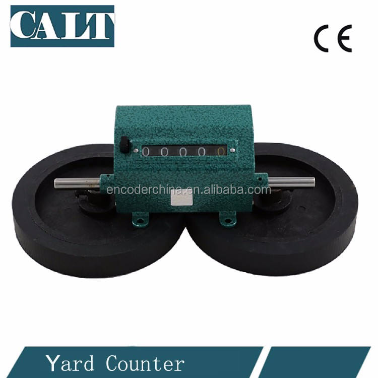 High quality digital cable wire length measuring wheel meter counter