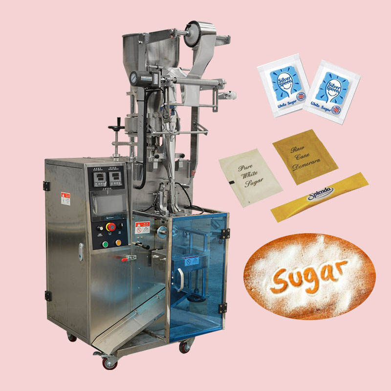 Semi automatic 5g 10g mini bag sugar salt stick packing machine for granule