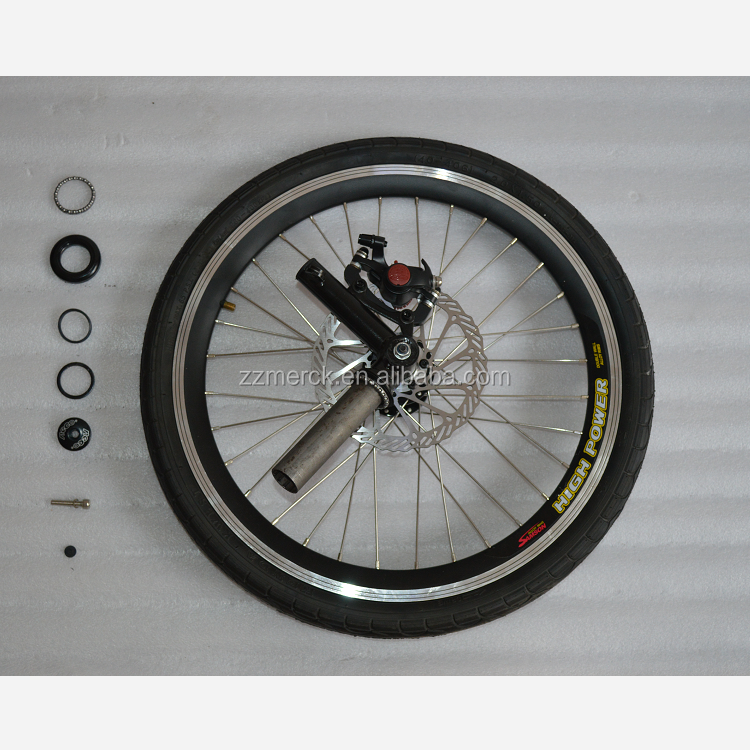 Free Shipping Bicycle Alloy Wheels 20 Inch With Disc Brake