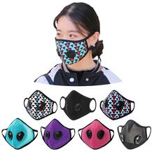 pollution outdoor workout filtration mask with breathing valve