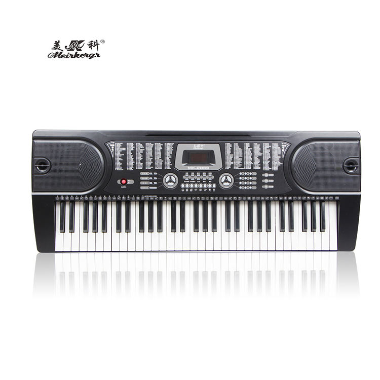 61Keys piano keyboard digital MK-2089 With 12 Demo Songs electronic organ LED Display electronic piano