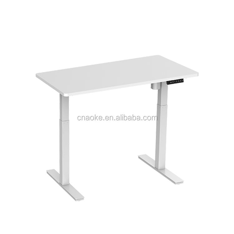 Electric height adjustable legs office stand up sit down desk table frame