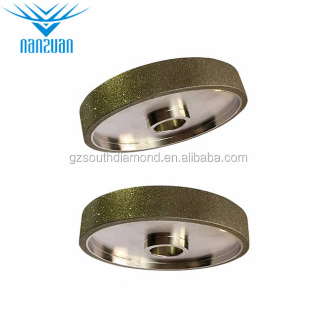 High Hardness Electroplated CBN Sharpening Grinding Wheels for Blade and Scissor Sharpening diamond disc tile