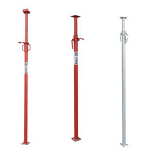 adjustable steel props painted shoring building jacks for construction sale
