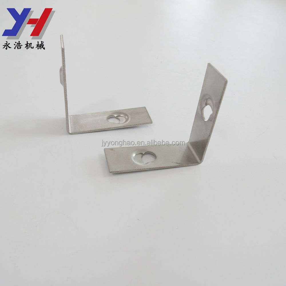 OEM ODM Custom Fabrication of Stainless Steel L Shape Marble Angle for Curtain Wall