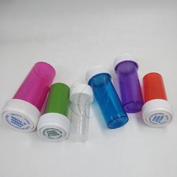 Arttight Plastic Child Resistant Vials Storage Bottles Push Down and Turn Medical Weed Containers