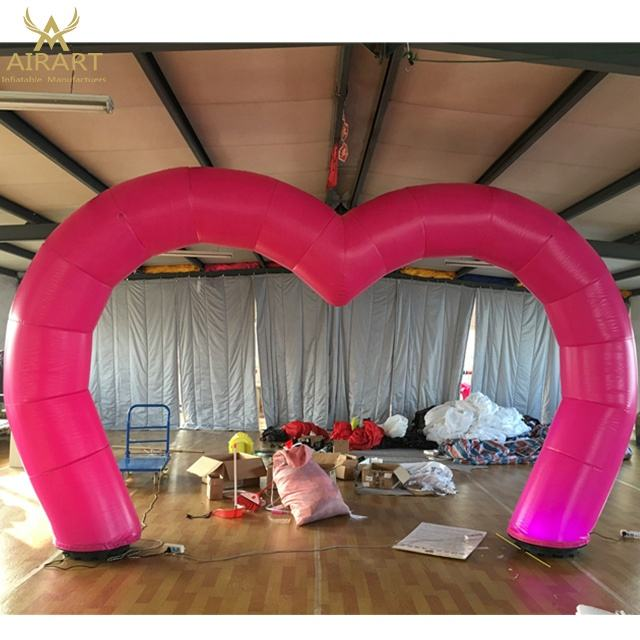 Wedding planning event arch decoration pink arch model custom for round wedding arches