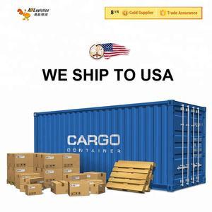 DDU DDP LCL shipping courier service from China to usa