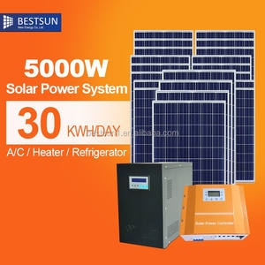 BPS5000w High quality TUV CE approved 1000W Off-Grid PV Solar panel system/Solar power system solar energy system price Home us