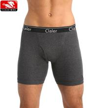 Cotton Men Boxers Shorts Solid Mens Underwear Long Boxer Male Boxers Spandex Trucks Sports